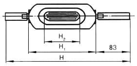 Основные габаритные и присоединительные размеры