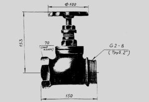 КПЛП – клапан пожарный латунный прямоточный